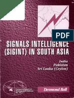 117 Signals Intelligence (SIGINT) in South Asia India Pakistan Srilanka (Ceylon) Desmond Ball P134