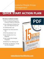 Quick Start Action Plan Workbook