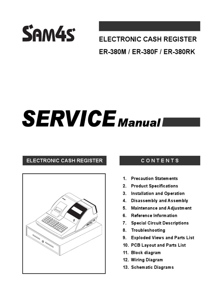 Sam4s er 380 service manual electrostatic discharge electrical sam4s er 380 service manual electrostatic discharge electrical connector asfbconference2016 Image collections