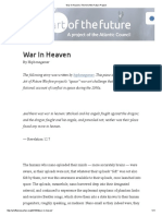 War in Heaven _ the Art of the Future Project