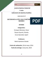 Informe 8 Quimica Analitica
