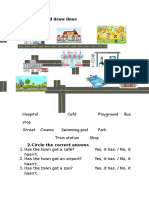 Town Worksheet