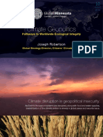 Climate Geopolitics — Pathways to Worldwide Ecological Integrity