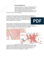 Base de Datos Geográfica