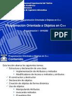 UI-C03 Programación Orientada a Objetos en C++