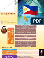 An Introduction About Philippine Foreign Policy