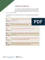 Ejercicios Propuestos Sobre Asignaciones y Condiciones