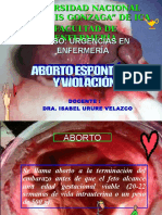 Aborto y Violacion