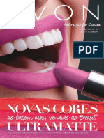 Folheto Avon Cosméticos - C.18/2016