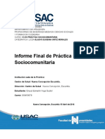 Usac Practica en Finca Sociocomunitaria 2016