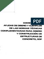Ayudas de diseño y ejemplos NTC - CONCRETO