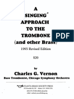 The Singing approach to Trombone