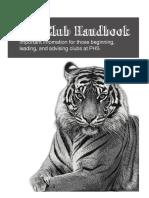 Club Handbook 2014-15
