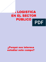 Logistica en Sector Publico