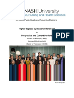 Monash University Doctoral Handbook.pdf