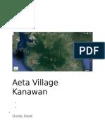 Aeta Village Kanawan