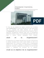 Organización-Empresarial