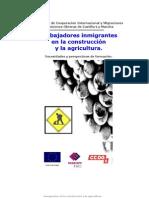 Trabajadores inmigrantes en la agricultura y la construcción. Necesidades y perspectivas de formación.
