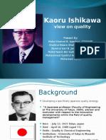 Kaoru Ishikawa View on Quality