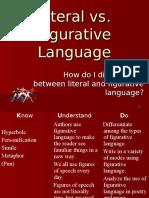 Literal vs Figurative Language