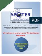 SPOTER - Distributor Proposal - 2016