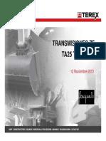 ZF Controles Terex TA25