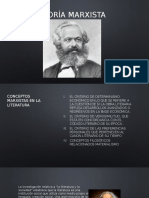 Teoría marxista