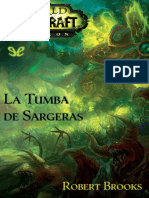 [Warcraft] [World of Warcraft 15.5] Brooks, Robert - La Tumba de Sargeras [32920] (r1.0).epub