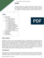 Derecho Constitucional - Wikipedia, La Enciclopedia Libre