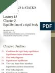 Equilibrium of Rigid Body(1)