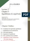 Equilibrium of Rigid Body(3)