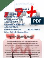 Perencanaan Pajak (Manajemen Perpajakan) PPT