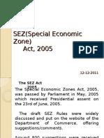 Sez Act 2005
