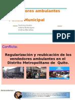 Gestión de Conflictos- Vendedores Ambulantes vs Policía Municipal Corregido