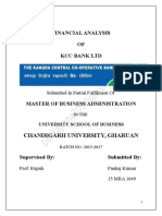 Kangra Central Cooperative Bank Report 2016-17 Pankajrana209@Gmail.com