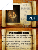 Ophthalmology Surgeon