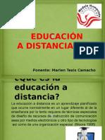 Ponencia de Educacion a Distancia