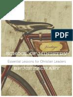 Escuela Para Ministros y Lideres-Bruce-Zachary