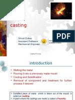 Casting Process I