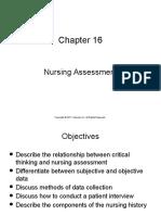 Nursing Assessment Ch 16studentsnotes
