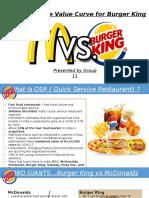 McDonald vs Burger King