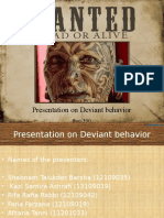 3008 Wanted Powerpoint Template