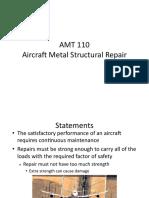 Aircraft Metal Structural Repair