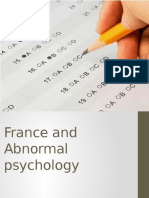 France and Abnormal Psychology