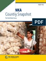 100118 WP PUBLIC Box393225B SriLanka Country Snapshots