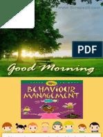 Non Pharmacological Behavior Management
