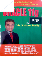 Oracle 11g/12c textbook pdf by Krishna Reddy,durga soft