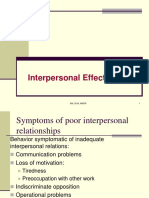 Interpersonal Relationship - 2016-17!18!19 - Sent