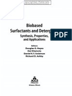 Biobased Surfactants and Detergents
