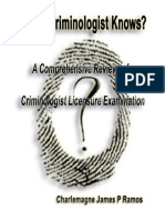 What Criminologist Knows by Cjpr